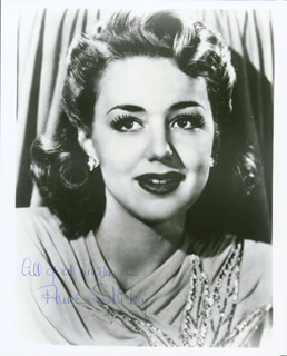 ANNE SHIRLEY - AUTOGRAPHED SIGNED PHOTOGRAPH