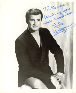 LYLE WAGGONER - AUTOGRAPHED INSCRIBED PHOTOGRAPH