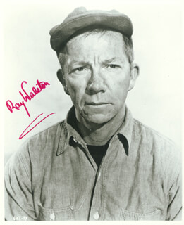 RAY WALSTON - AUTOGRAPHED SIGNED PHOTOGRAPH