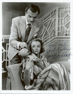 JUNE LOCKHART - AUTOGRAPHED INSCRIBED PHOTOGRAPH  - HFSID 186082