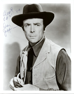DEAN JAGGER - AUTOGRAPHED SIGNED PHOTOGRAPH 10/21/1980