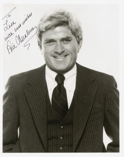 PHIL DONAHUE - AUTOGRAPHED INSCRIBED PHOTOGRAPH