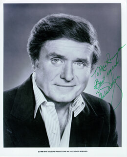 MIKE DOUGLAS - AUTOGRAPHED INSCRIBED PHOTOGRAPH