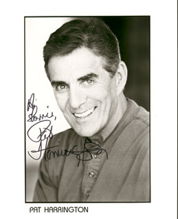 PAT HARRINGTON JR. - INSCRIBED PRINTED PHOTOGRAPH SIGNED IN INK
