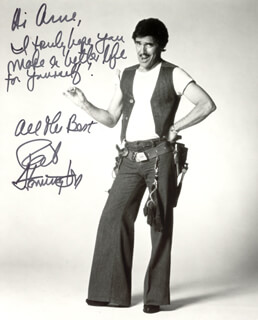 PAT HARRINGTON JR. - AUTOGRAPHED INSCRIBED PHOTOGRAPH