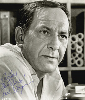 JACK KLUGMAN - AUTOGRAPHED INSCRIBED PHOTOGRAPH