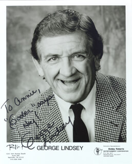 GEORGE LINDSEY - AUTOGRAPHED INSCRIBED PHOTOGRAPH