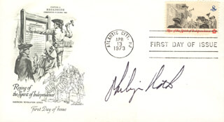 PHILIP ROTH - FIRST DAY COVER SIGNED