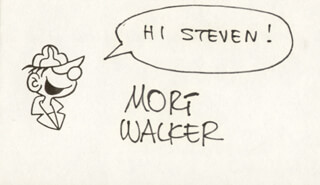 MORT WALKER - INSCRIBED ORIGINAL ART SIGNED