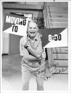 DON RICKLES - AUTOGRAPHED SIGNED PHOTOGRAPH