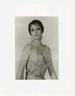IRENE RICH - AUTOGRAPHED SIGNED PHOTOGRAPH