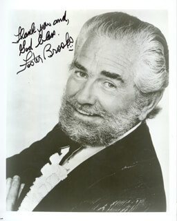 FOSTER BROOKS - AUTOGRAPHED SIGNED PHOTOGRAPH