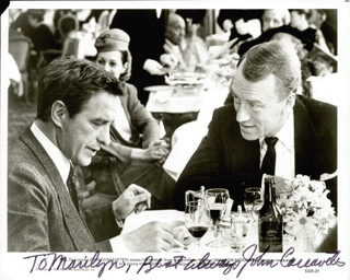 JOHN CASSAVETES - AUTOGRAPHED INSCRIBED PHOTOGRAPH