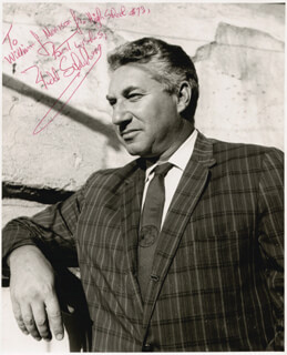 BUDD SCHULBERG - AUTOGRAPHED INSCRIBED PHOTOGRAPH