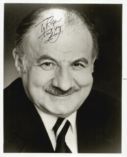 LOU JACOBI - AUTOGRAPHED INSCRIBED PHOTOGRAPH