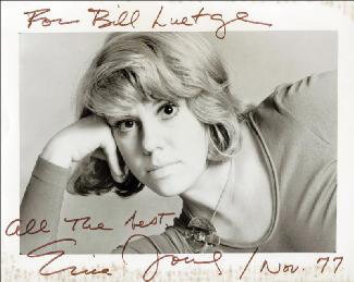 ERICA JONG - AUTOGRAPHED INSCRIBED PHOTOGRAPH 11/1977