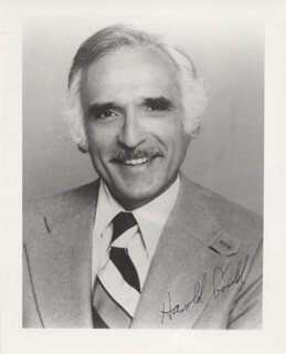 HAROLD GOULD - AUTOGRAPHED SIGNED PHOTOGRAPH