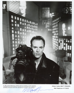 MATT FREWER - PRINTED PHOTOGRAPH SIGNED IN INK