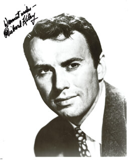 RICHARD KILEY - AUTOGRAPHED SIGNED PHOTOGRAPH
