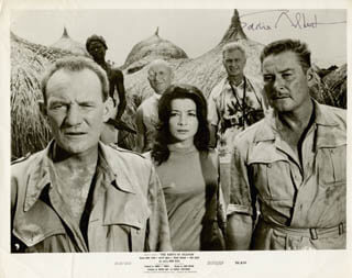 EDDIE ALBERT - AUTOGRAPHED SIGNED PHOTOGRAPH