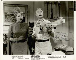 Autographs: EDDIE ALBERT - INSCRIBED PHOTOGRAPH SIGNED