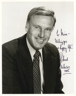 RICHARD ANDERSON - AUTOGRAPHED INSCRIBED PHOTOGRAPH 1995