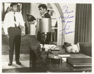 SID CAESAR - AUTOGRAPHED INSCRIBED PHOTOGRAPH