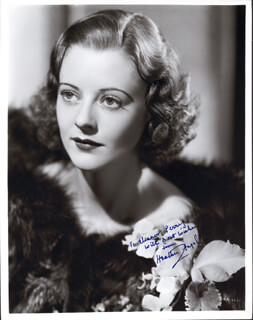 HEATHER G. ANGEL - AUTOGRAPHED INSCRIBED PHOTOGRAPH