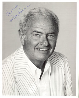 HARVEY KORMAN - AUTOGRAPHED SIGNED PHOTOGRAPH