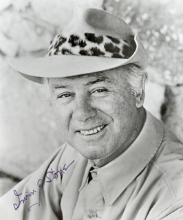 IRVING STONE - AUTOGRAPHED SIGNED PHOTOGRAPH