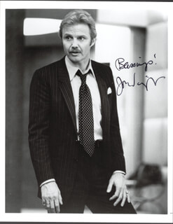 JON VOIGHT - AUTOGRAPHED SIGNED PHOTOGRAPH