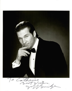 JEFF BRIDGES - AUTOGRAPHED INSCRIBED PHOTOGRAPH