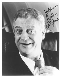 RODNEY DANGERFIELD - AUTOGRAPHED INSCRIBED PHOTOGRAPH