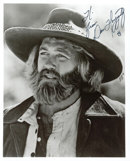 DAN HAGGERTY - AUTOGRAPHED SIGNED PHOTOGRAPH