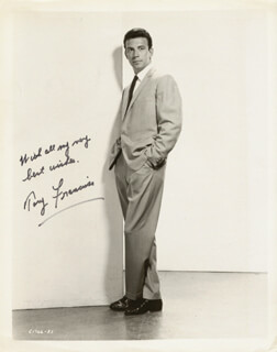 ANTHONY FRANCIOSA - AUTOGRAPHED SIGNED PHOTOGRAPH