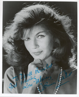 CORINNE CALVET - AUTOGRAPHED INSCRIBED PHOTOGRAPH