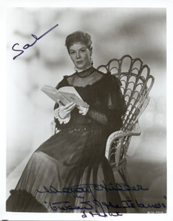 DAME WENDY HILLER - AUTOGRAPHED INSCRIBED PHOTOGRAPH