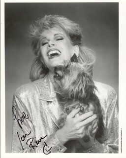 JOAN RIVERS - AUTOGRAPHED SIGNED PHOTOGRAPH