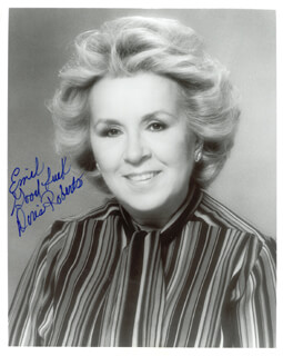 DORIS ROBERTS - AUTOGRAPHED INSCRIBED PHOTOGRAPH