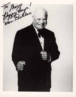 DON RICKLES - AUTOGRAPHED INSCRIBED PHOTOGRAPH