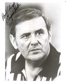 EUGENE ROCHE - AUTOGRAPHED SIGNED PHOTOGRAPH