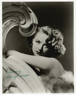 JENNIFER HOLT - AUTOGRAPHED SIGNED PHOTOGRAPH