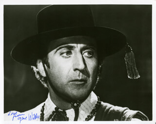GENE WILDER - AUTOGRAPHED SIGNED PHOTOGRAPH