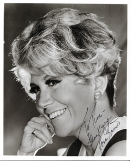 RONA BARRETT - AUTOGRAPHED INSCRIBED PHOTOGRAPH