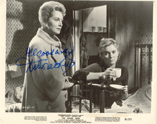 DEBORAH KERR - PRINTED PHOTOGRAPH SIGNED IN INK