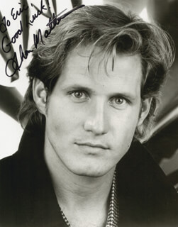 THOM MATHEWS - AUTOGRAPHED INSCRIBED PHOTOGRAPH