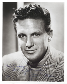 ROBERT STACK - AUTOGRAPHED INSCRIBED PHOTOGRAPH 11/25/1957