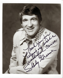 SHECKY GREENE - AUTOGRAPHED SIGNED PHOTOGRAPH