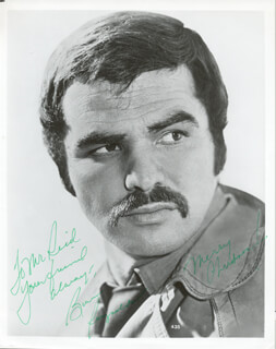 BURT REYNOLDS - AUTOGRAPHED INSCRIBED PHOTOGRAPH