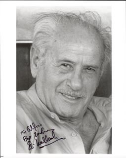 ELI WALLACH - AUTOGRAPHED INSCRIBED PHOTOGRAPH
